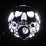 Lighted Engine Cover, Skull and 8Ball