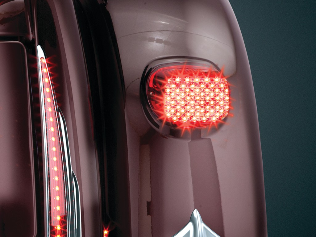 Pulsating brake light controller