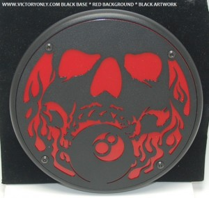 Engine Cover Skull and 8Ball