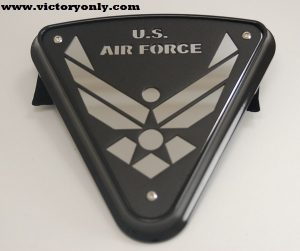 Cheese Wedge Engine Cover Victory Motorcycle Air Force 004