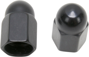 DS181191 Distinctively anodized valve stem caps Available in four different colors to spruce up your wheels Sold in pairs Made in the U.S.A.