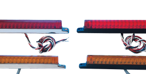 •LEDs are dual intensity, so they can be used as running/brake or running/turn signal