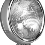 "Thinnest chrome spotlight on the market, only 2 1/4"" deep"
