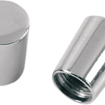 CHROME VALVE STEM CAPS