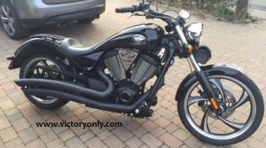 beveled engine cover victory motorcycle