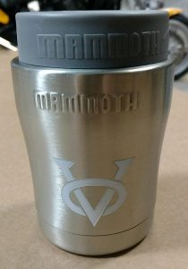 Can Cooler Insulated Victory Small Logo