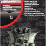 EMBLEM DECAL KING SKULL