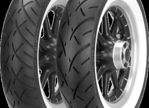 Metzeler ME 880 Marathon Wide White Sidewall Rear Tire