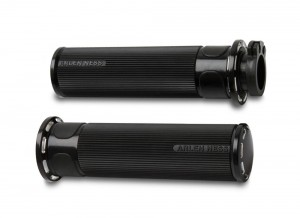 Slot Track Fusion Grips - Black