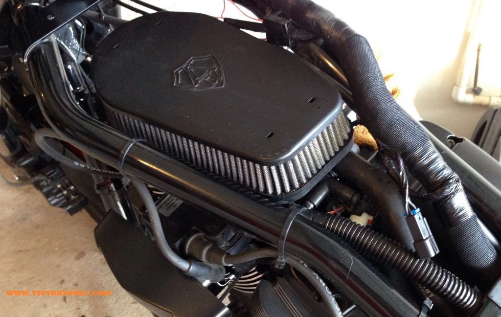 S&S 2003 - 2007 S&S Performance Airbox Victory