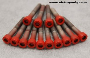 red Steel Candy Cam Cover Bolts Victory Motorcycle 100 106 Freedom Engines