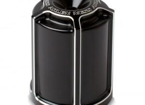 oil filter housing black beveled