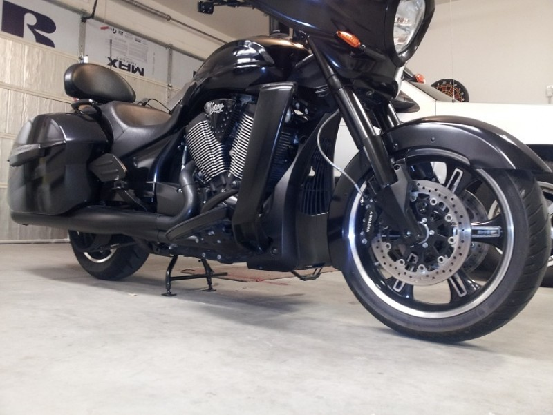 Center Stand Victory Motorcycle