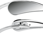 MIRROR RAD2 Teardrop Chrome Right