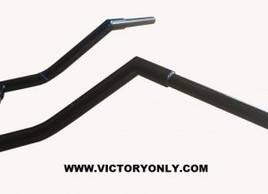 VICTORY CROSS COUNTRY VERTICALLY CHALLENGED PLUS 3 CUSTOM APE HANGER HANDLEBAR