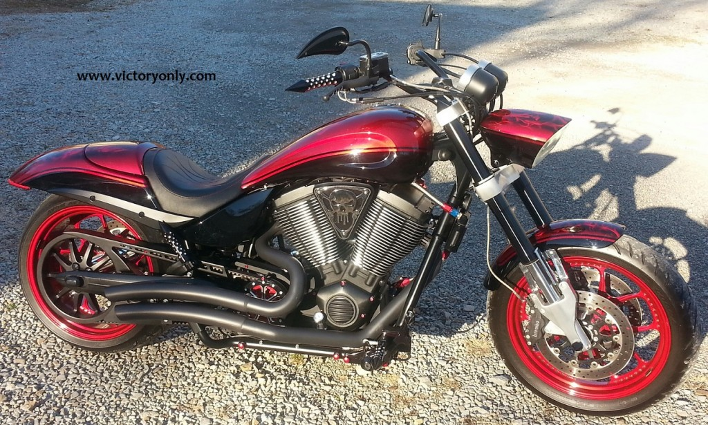 custom victory hammer motorcycle part accessory ben