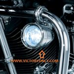 DRIVING LIGHT HIGHWAY BAR MOUNTED KIT CHROME