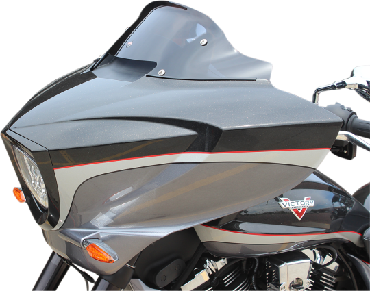 """Windshield 18/"""" Clear Slipstreamer S-400-18 For 10-17 Victory Cross Country"""