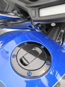 Kit consits of the correct length colored anodized aluminum bolts to replace the ugly gas tank lid bolts on you Victory motorcycle