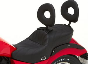 Dual Touring Saddle for 2014 Victory Judge