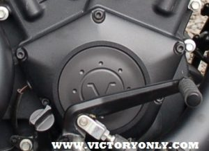 Black Ceramic bolts Installed Cam Cover Victory Motorcycle Judge