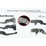 Journey & Anthem adjustable levers for Victory motorcycles