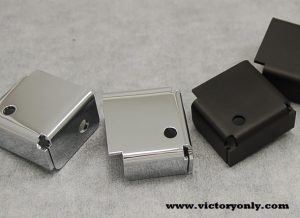 Victory Low Down Light Brackets in Black or Chrome Perfect for your Victory Cross Roads and Hardball! These simple Light Brackets significantly improves the ability to be seen by other drivers during the day and enhance rider vision to see more clearly during night time driving. Finishes available in our beautiful finish thats Black Cerakoted coated. Works with Lowers on the Cross Country Tour! Works with Forged Highway Bars or standard Round on Victory Cross Country Box Design allows for Wiring to be hidden under light mount.