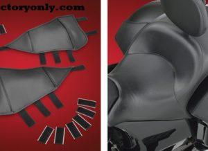 Saddlebag Lid Bras help stop scratches to your saddlebag lid