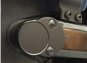 Billet Aluminum Victory Motorcycle Octane Swing Arm Pivot Bolt Cover