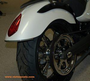 Rear Run Brake Turn Led Installed Victory Motorcycle Vegas Smoke Lens