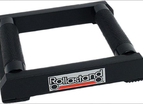 rollastand motorcycle stand cleaning tool