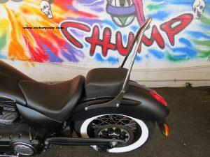 sissybar backrest victory motorcycle mount custom1