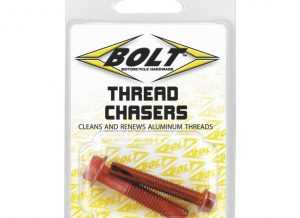 Designed to clean and re-cut damaged aluminum threads. Also removes dirt and metal shavings that become captured in the thread grooves.