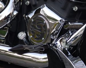 Victory Parts Engine Cover Tribal