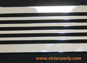 Oil Cooler Cover BAR DESIGN CHROME PRE 2007