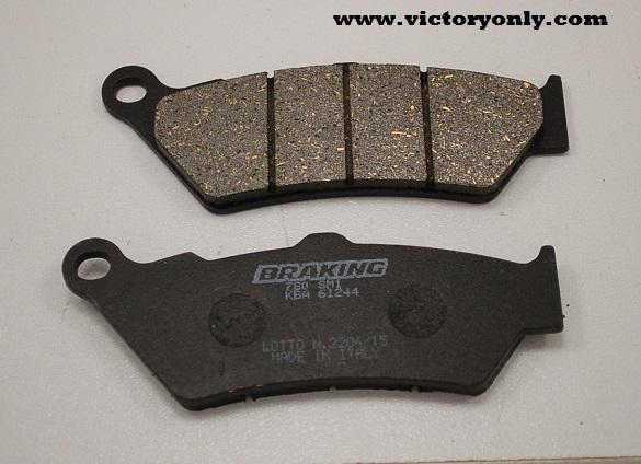 Front+Rear Brake Pad For VICTORY 1500 Vegas 2003-07 1500 Vegas 8-Ball 2005-2007