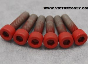 CANDY STEEL BOLTS VICTORY MOTORCYCLE TRIPLE TREE CLAMP BOLTS