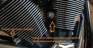 Cam Bolt Covers Finned Aluminum