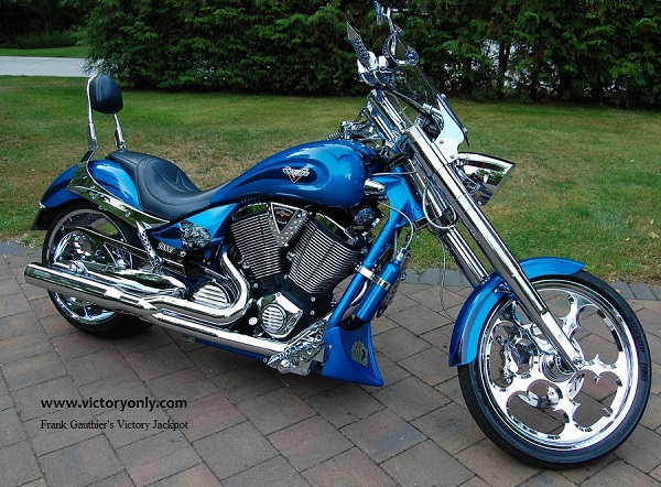 Frank Gauthier Victory jackpot Custom Motorcycle