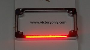 victory motorcycle parts and accessories License Plate frame Chrome Turn Signals & Brake Light