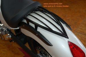 RACK REAR SOLO CHROME OR BLACK VICTORY MOTORCYCLE VEGAS KINGPIN HIGHBALL