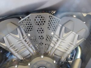 Victory Octane Engine Badge. Made from Durable Cold Rolled Steel. Easy to install! Fits 2017 Victory Octane American Made Gives Your Bike an Aggressive Industrial Look