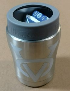 Can Cooler Insulated Victory Logo