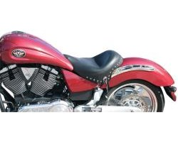 Wide Touring Vintage Solo Seat - Victory Kingpin, Vegas & 8-Ball. victory highball motorcycles